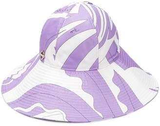 Emilio Pucci La Villa Print Hat