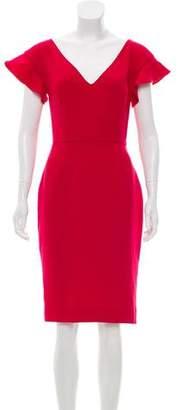 Rachel Zoe Short Sleeve Knee-Length Dress