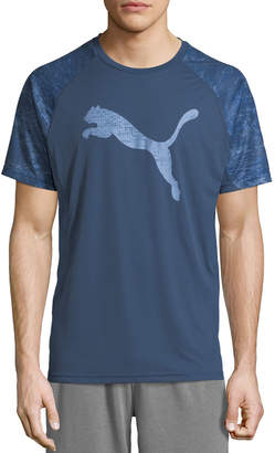 Puma Men's Vent Cat Performance Tee, Blue