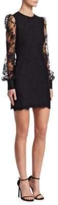 Alexander McQueen Lace Detail Dress