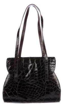 Saks Fifth Avenue Alligator Shoulder Bag
