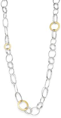 """Ippolita Sterling Silver & 18K Yellow Gold Chimera Long Chain Necklace, 42.5"""""""
