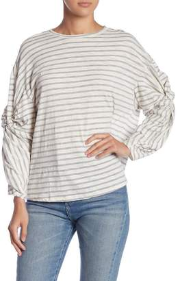 Lush Ruched Long Sleeve Top