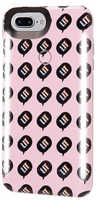 LuMee Kimoji Lit Lighted iPhone 6/6s/7/8 & 6/6s/7/8 Plus Case