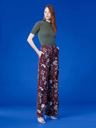 Diane von Furstenberg Wide Leg Pant