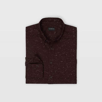 Club Monaco Slim Solid Nep Shirt