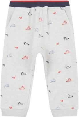 Emporio Armani Sneaker Print Sweatpants