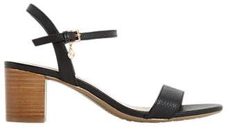 Dune Jiggle Block Heel Sandals