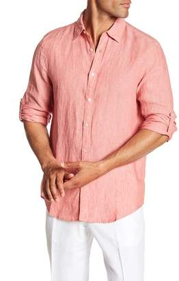 Perry Ellis Roll Sleeve Regular Fit Shirt