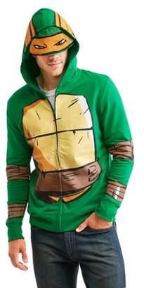 Michelangelo Movies & Tv Men's Zip-Up Costume Hoodie