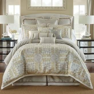 Waterford Olivette Leaf Motif Comforter Set, California King