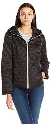 Nautica Women's Quilted Jacket $58.79 thestylecure.com