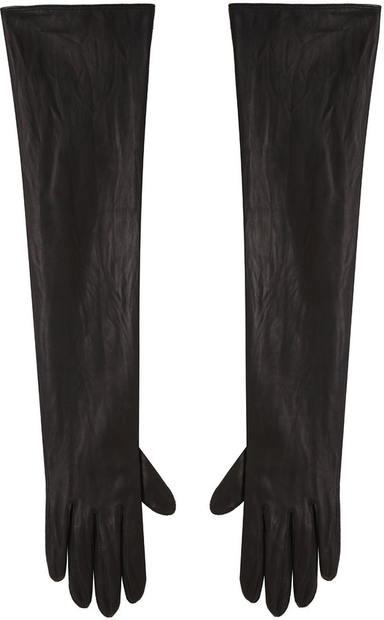 Isabel Marant Long Leather Gloves