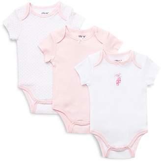 Little Me Girls' Prima Ballerina Bodysuit, 3 Pack - Baby