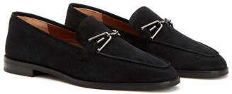 Aquatalia Teodora Waterproof Suede Loafer