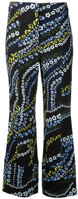 Erdem flower print trousers