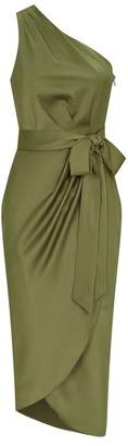 Ted Baker Gabie Draped Midi Dress