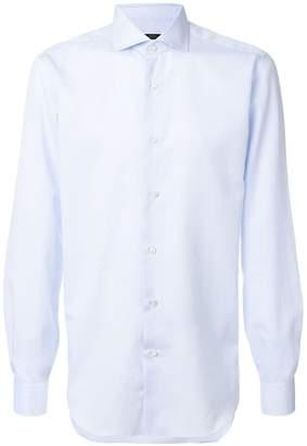 Barba french cuff shirt