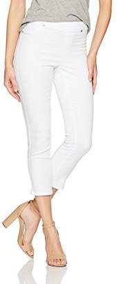 Tribal Women's Pull on Capri Soft Touch Denim