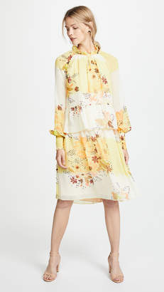 See by Chloe Floral Tiered Dress