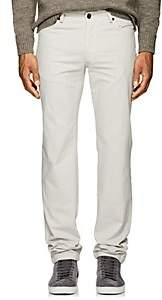 Marco Pescarolo Men's Washed Cotton Twill Pants-Cream