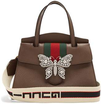 Gucci GucciTotem grained-leather bag