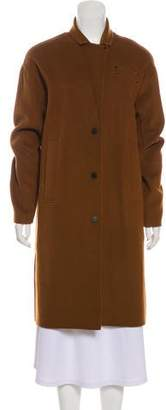 The Arrivals Long Sleeve Knee-Length Coat