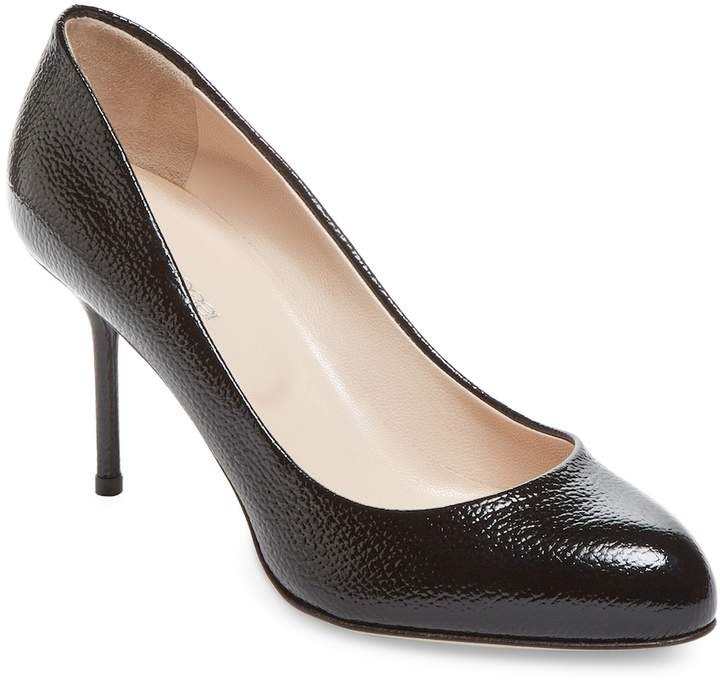 Sergio Rossi Women's Patent Leather High Heel Pump