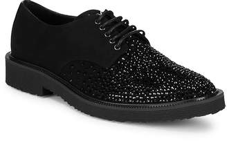 Giuseppe Zanotti Men's Studded Leather Oxfords