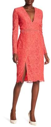 Style Stalker STYLESTALKER Sabine Lace Long Sleeve Dress