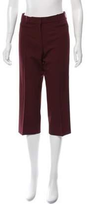Louis Vuitton Cropped Wool Pants