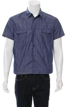 Neil Barrett Chambray Button-Up Shirt