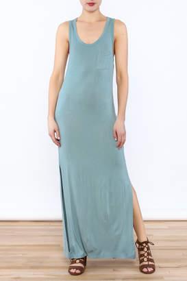 Double Zero Mint Maxi Dress