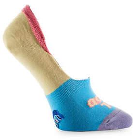 YO SOX Womens Retro Cell Phone No-Show Socks