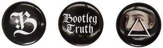 Undercover Black Bootleg Truth Pin Set