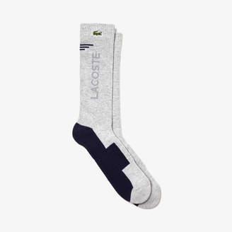 Lacoste Men's SPORT Stretch Jersey Tennis Socks