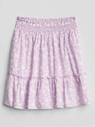 Gap Crinkle Tier Skirt