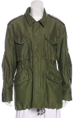3.1 Phillip Lim Wool Blend Casual Jacket