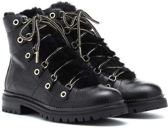 Jimmy Choo Hillary Flat leather ankle boots