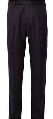 Officine Generale Marcel Slim-Fit Wool Trousers