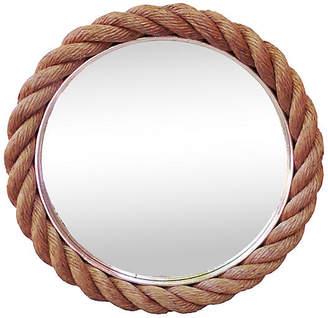 One Kings Lane Vintage Round Rope Mirror - majolicadream