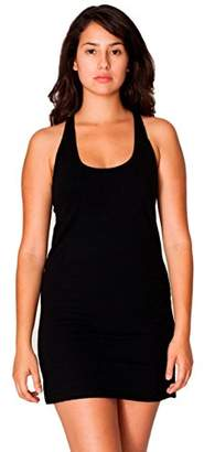 American Apparel Women's Fine Jersey Racerback Tank Dress $16.93 thestylecure.com