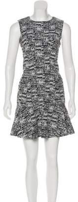 Diane von Furstenberg Sleeveless Printed Dress w/ Tags