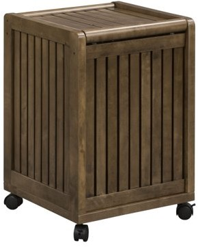 Laundry by Shelli Segal Abingdon Mobile Hamper with Lid