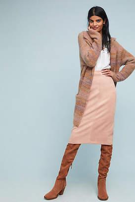 Akemi + Kin Faux Suede Midi Skirt