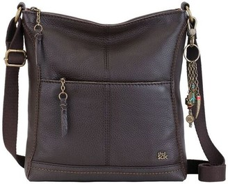 The Sak Brown Metallic Leather Handbags - ShopStyle