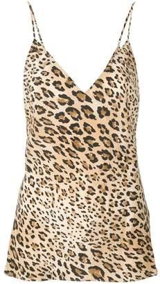 Frame cheetah print camisole