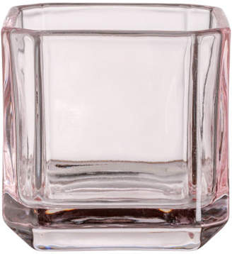 H&M Glass Tea Light Holder - Pink