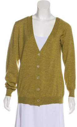 Maison Margiela V-Neck Lightweight Cardigan