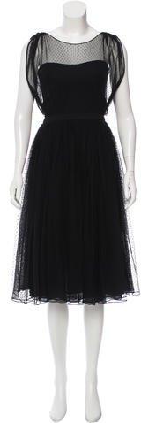 GucciGucci A-Line Tulle Dress